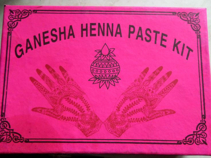 Mehndi For Sale : Henna tattoo kit now for sale at green goddess earth all