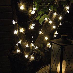 Outdoor Flower Light Garland - room decorations £40