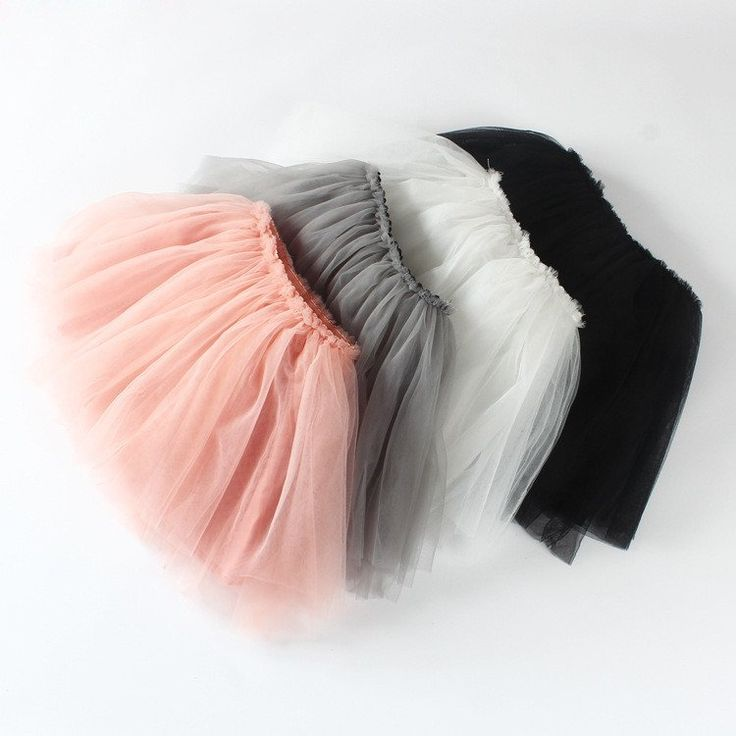 Fluffy tutu skirt to pair with your fav top!