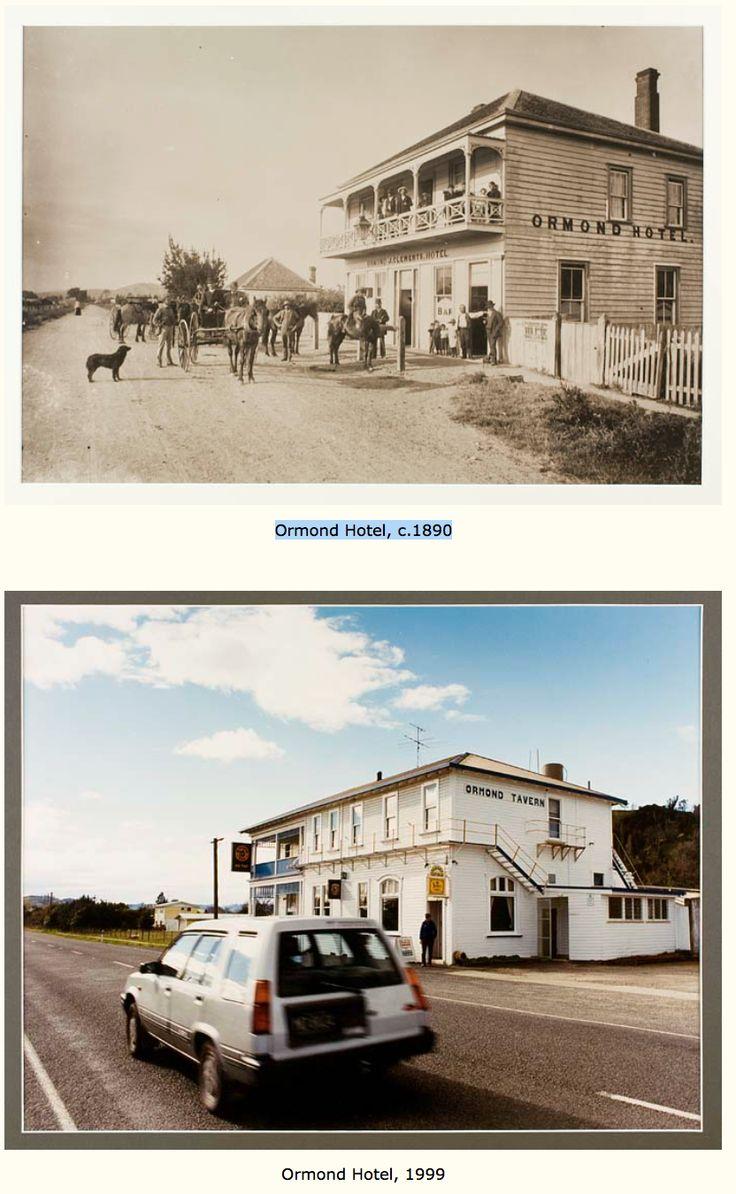 Ormond Hotel, c.1890 & Ormond Hotel, 1999
