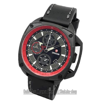 Jam Tangan Expedition E-6646 Black Red Rp 1,135,000 | BB : 21F3BA2F | SMS :083878312537