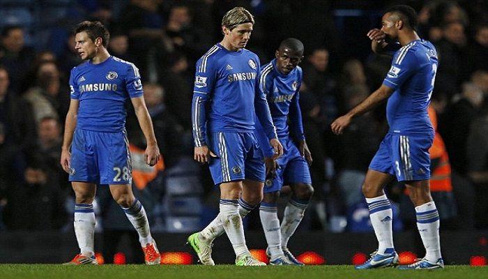 Galatasaray'ın salı günü Şampiyonlar ligi'nde karşılaşacağı Chelsea, ligte ağır bir yenilgi aldı.