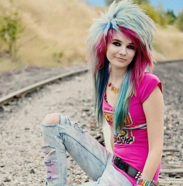 30 Best Images About Characters (girls, Rainbow Hair) On
