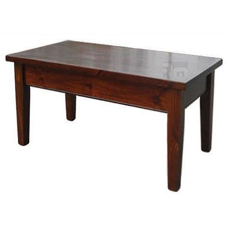 City Life Pine Wood Vintage Coffee Table in Brown | Buy New Arrivals