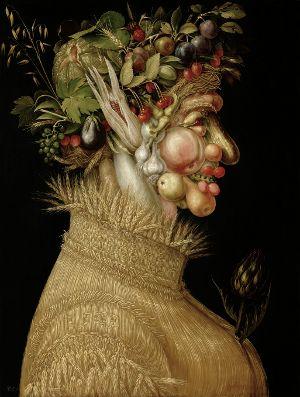 Zaktualizowano 28-04-2010 Giuseppe Arcimboldo. Lato, 1563 Ścisła dieta warzywno-owocowa jest rodzajem oczyszczającego postu, który m...