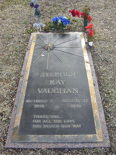 Stevie Ray Vaughan | Grave of Stephen Ray Vaughan in Laurel … | Flickr