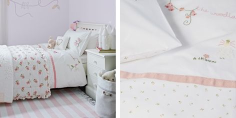 Buy Woodland Fairy Bed Linen - from The White Company