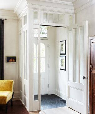Beautiful glassed-in cold entry.