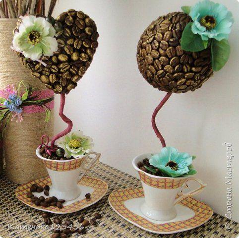 Топиарии и вазы