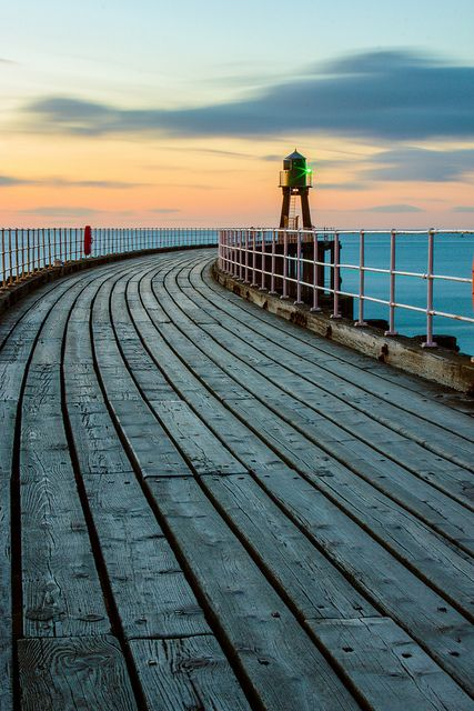 Whitby Pier | Flickr - Photo Sharing!