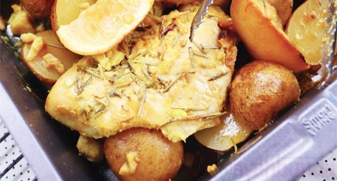 Ayam Panggang Lemon Ayahbunda.co.id