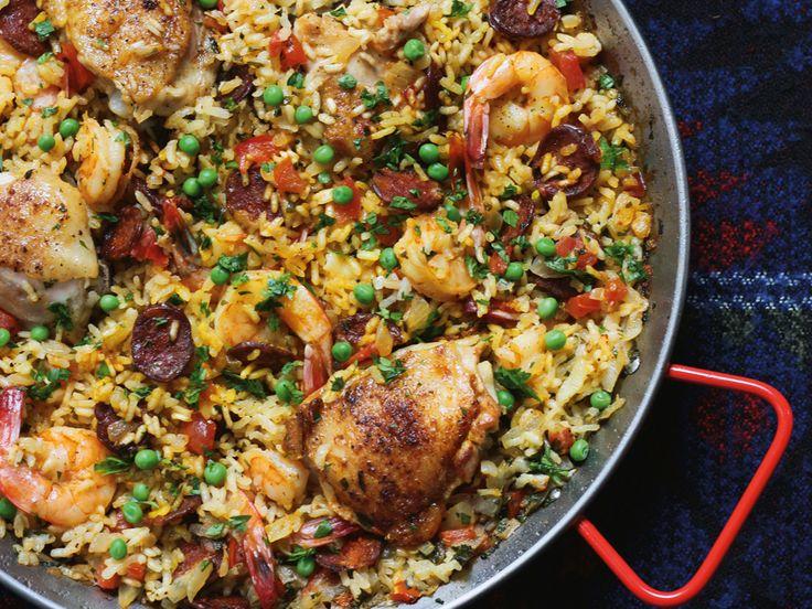 Paella Chicken and Chorizo
