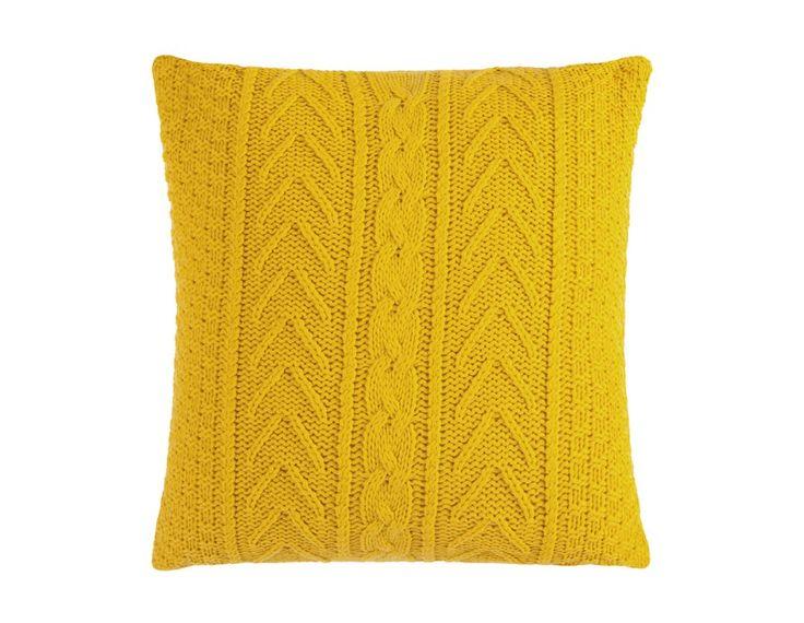 C10326 - Accent cushion 17.5'' x 17.5'' - Yellow
