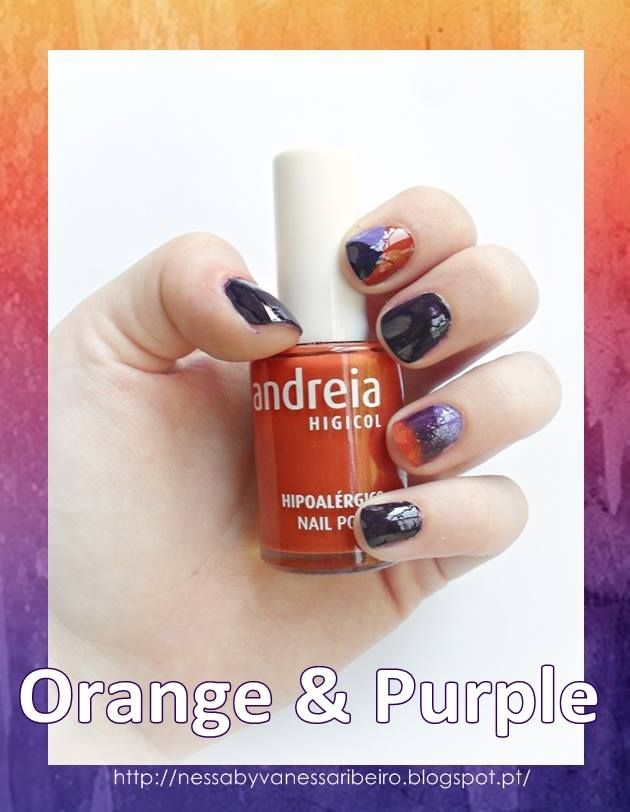 http://nessabyvanessaribeiro.blogspot.pt/2013/09/nails-orange-purple.html