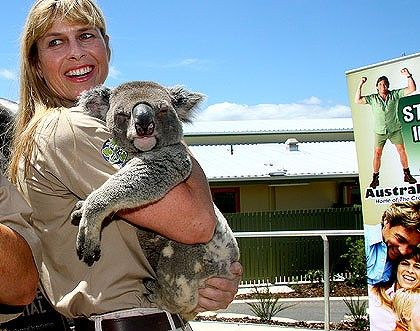 Terri Irwin at Australia Zoo, has kept the park going since Steve's death..