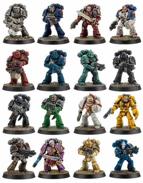 The 18 Legiones Astartes
