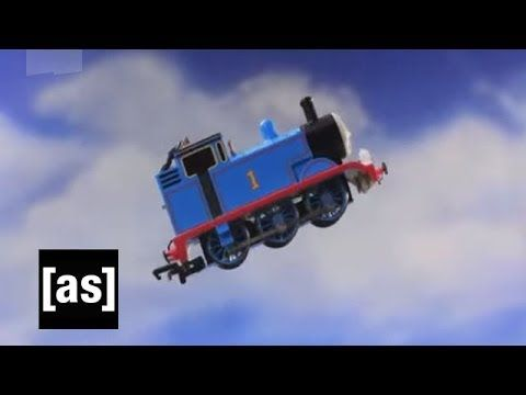 Blow Some Steam | Robot Chicken | Adult Swim. I loved Thomas as a kid, but this is hilarious XD