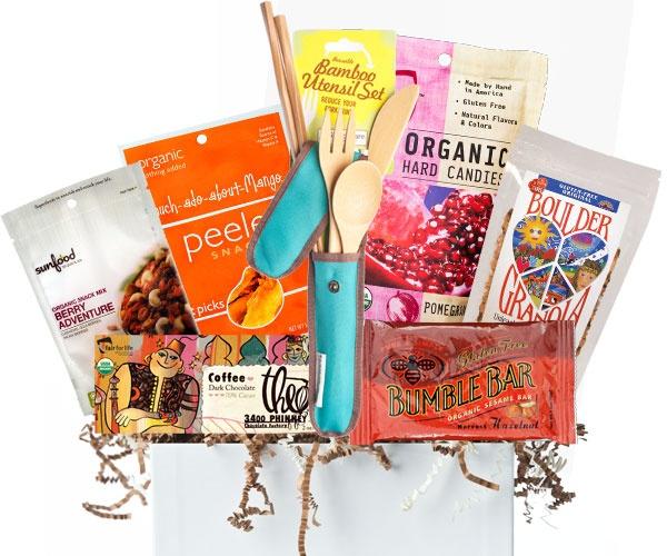 Las 25 mejores ideas sobre gluten free gift baskets en pinterest gluten free organic gift basket via erica raymonds best organics theo bumblebar negle Images