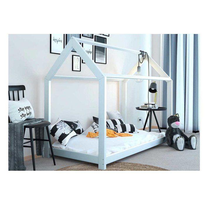 Elisha Single 3 Canopy Bed Kid Beds Wooden Bed Frames Kids