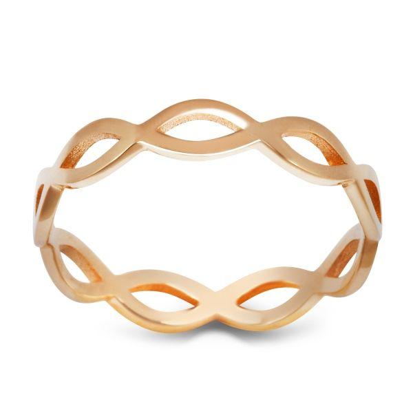 Sempre - złoty pierścionek