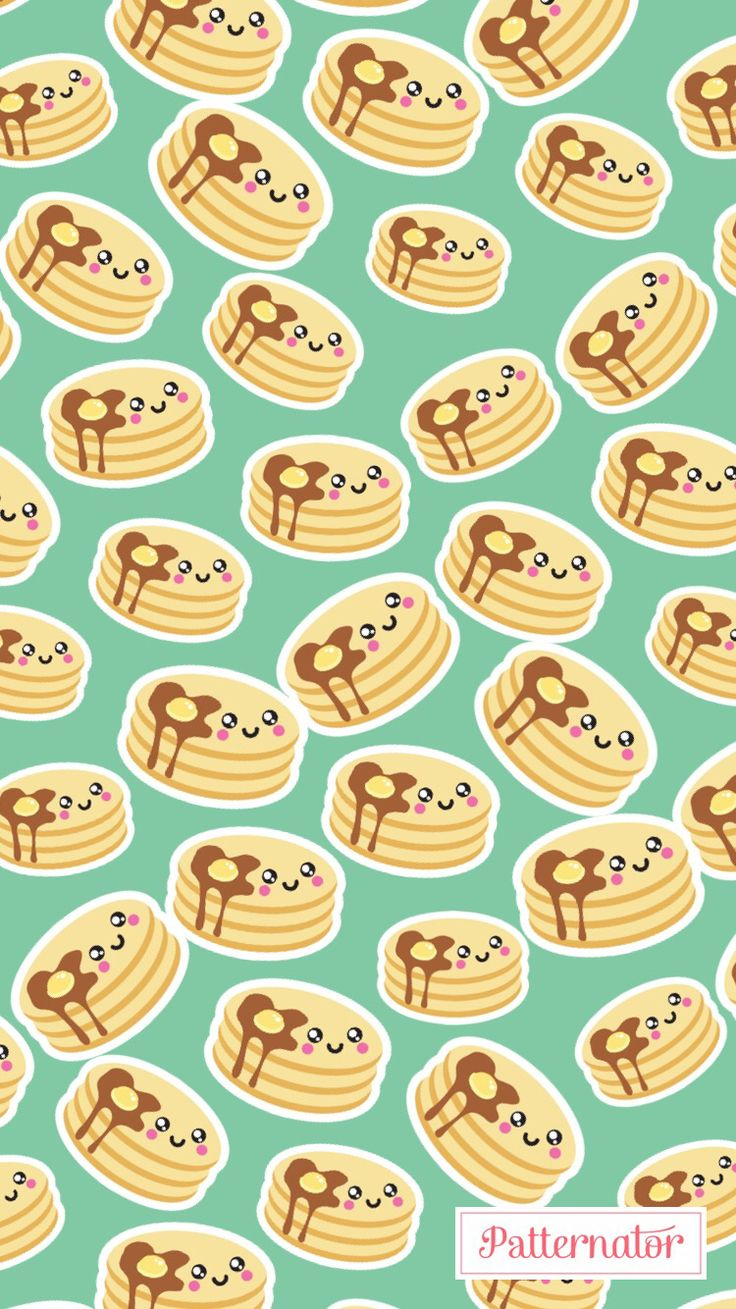 #pattern #wallpaper #iphone #background #colorful #pancakes #breakfast #food #egg #tasty