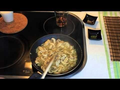 La buena comida: Cómo preparar una Salsa de Champiñones?