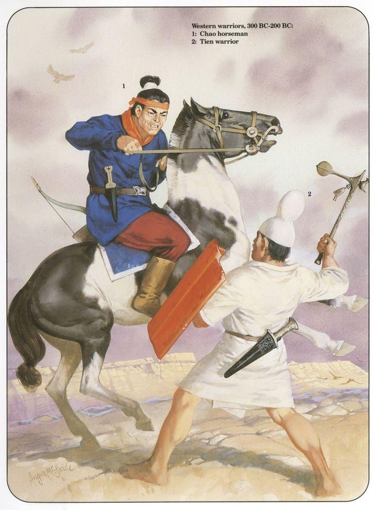 Western warriors, 300–200 BC