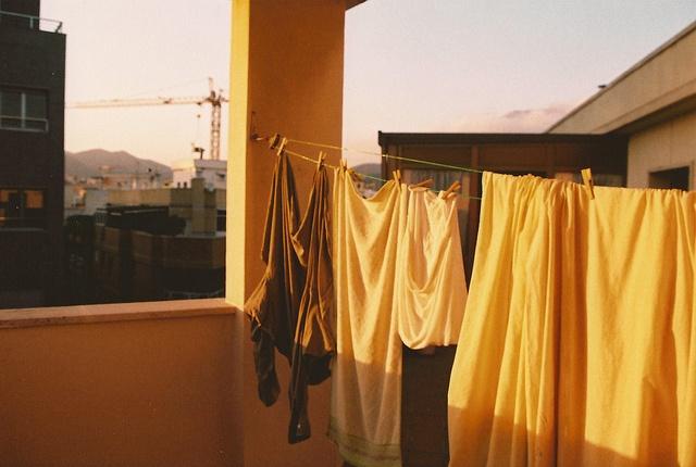 Hang me up to dry.