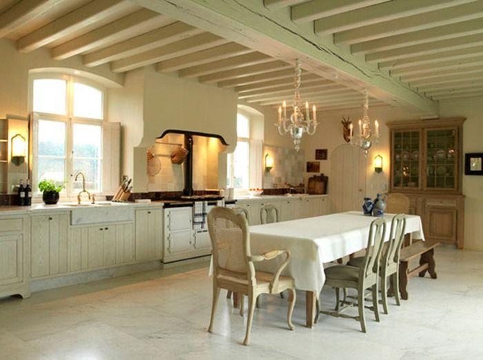 Belle crème cuisine belge perles Keuken Pinterest