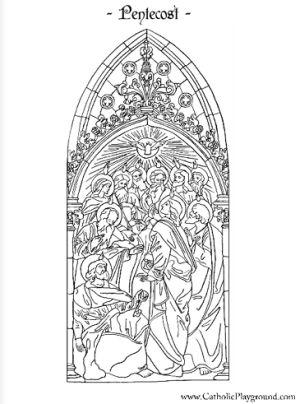 pentecost coloring page - 13 best pinksteren kleurplaten 2 images on pinterest