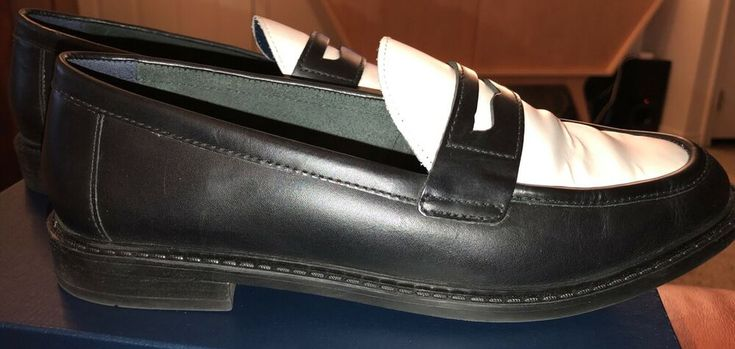 Cole Haan Pinch Campus Penny Loafers Womens Sz 8 Black ...