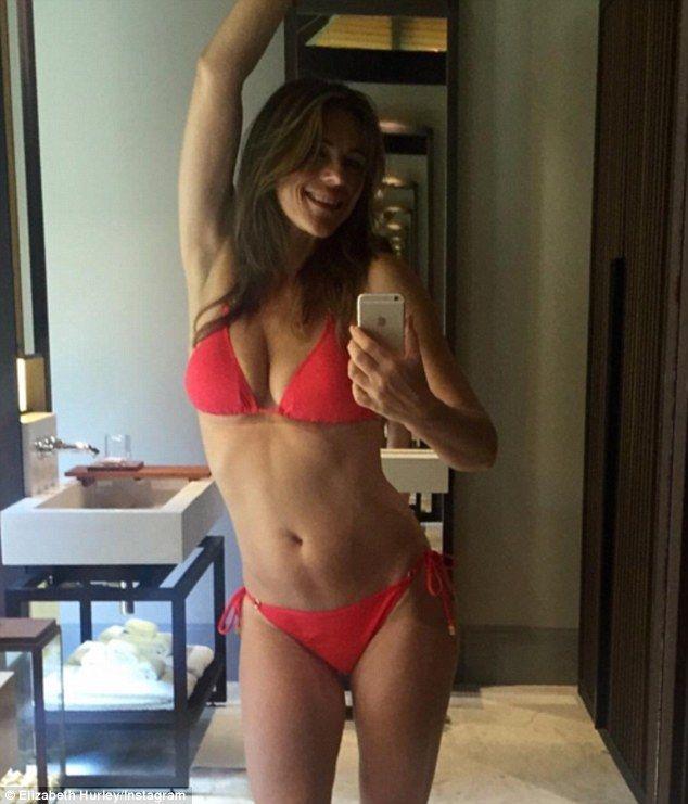 Look ravishing in a red bikini by Elizabeth Hurley Beach   Click 'visit' to buy it now  #DailyMail