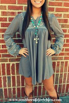 Kaiti Tunic Dress- Charcoal. cozy