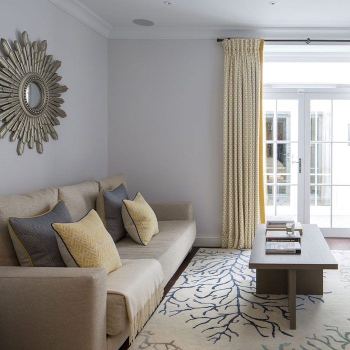 1001 id es d co pour adopter la couleur taupe clair chez vous decoration canap taupe - Couleur salon gris taupe ...