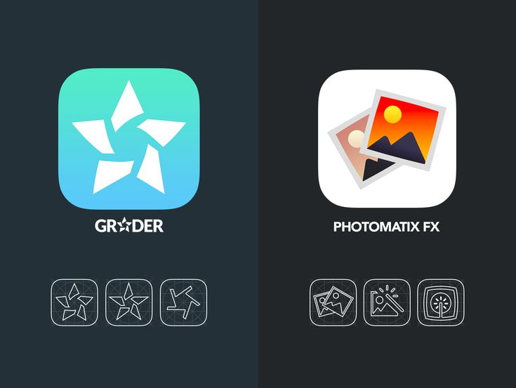 Minimalistic App Icons on Behance