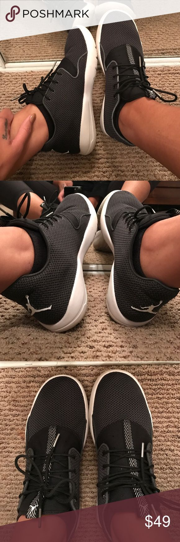 Jordan Eclipse. Jordan Eclipse sneakers. Worn twice & in like new condition. No smell. Exactly as pictures. Kids size 7y but fits a women's size 8. Jordan Shoes Sneakers