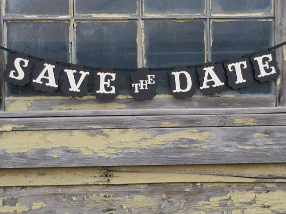 1Set Save The date banner Wedding Sign Garlands Photo Props For Engagement photos Wedding bridal shower Party Decorations