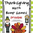 Thanksgiving Math Bump Games Freebie from Games 4 Learning gives you 2 Thanksgiving Math Board Games that are perfect for Thanksgiving math activit...