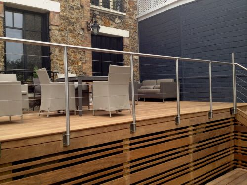 Best 25 balustrade inox ideas only on pinterest rampe for Balustrade aluminium exterieur