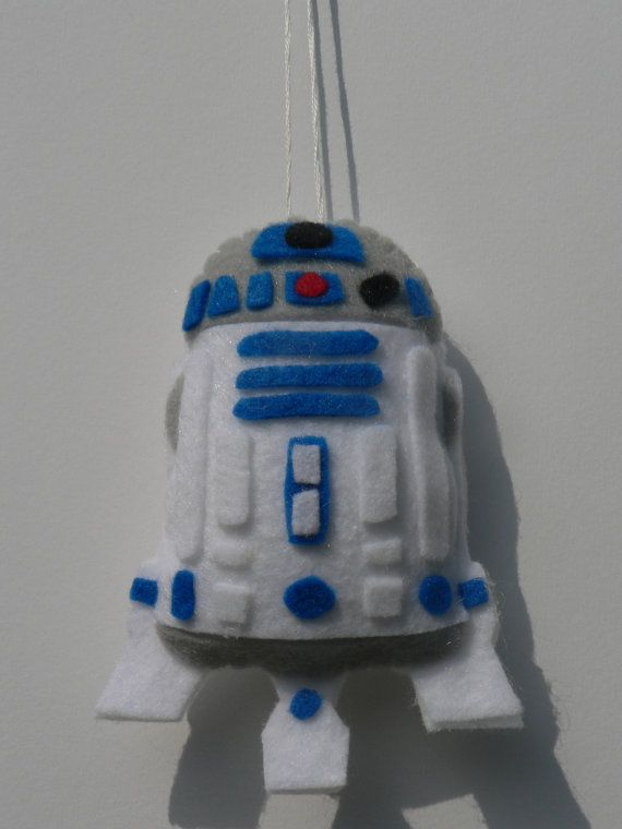 Felt+Star+Wars+Ornament++R2D2+Ornament+by+FeltLikeIt1+on+Etsy,+$12.00