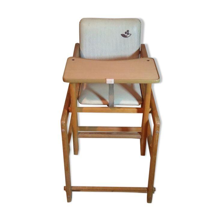 Chaise Haute Modulable Des Annees 70 Chaise Chaise Haute Bebe