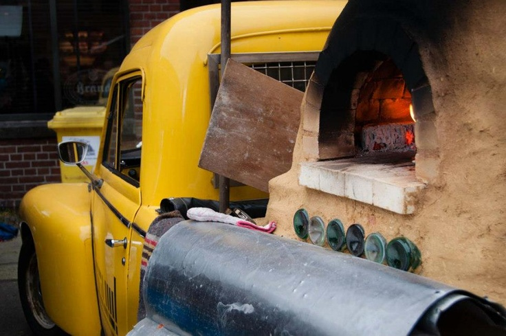 Couple Starts the Ultimate Pizza Delivery Business: A Wood-Fired Pizza Oven on Wheels