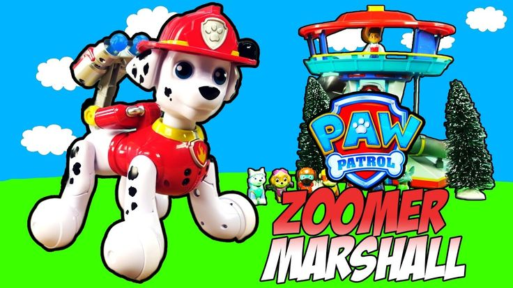 PAW PATROL ZOOMER MARSHALL TOY Kids Interactive Pup Goes Crazy