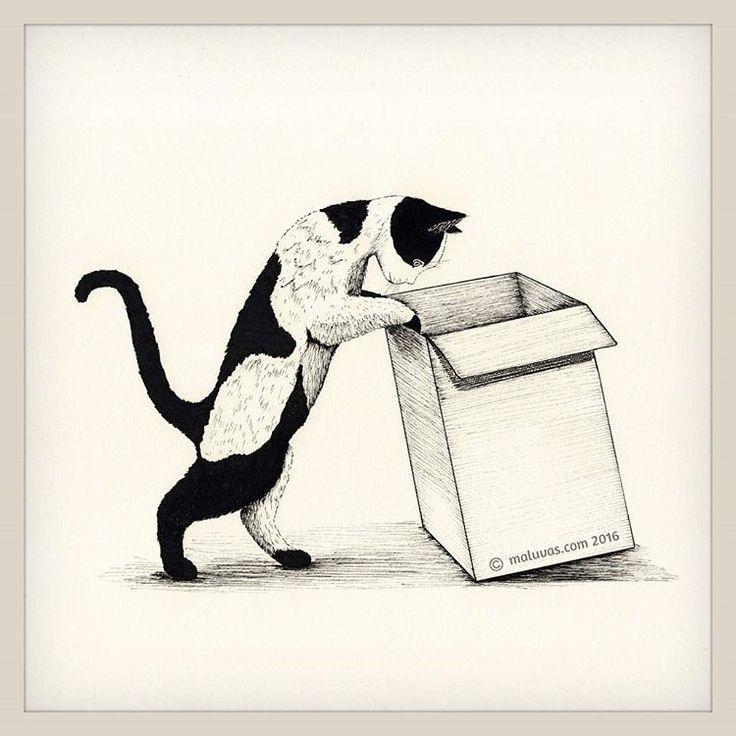 #inktober2016 day26 = box