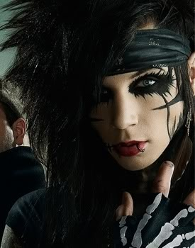 The make up tho... | Andy Biersack