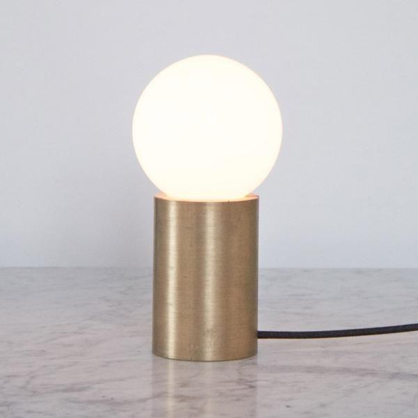 Menu bordlampe socket occasional lamp messing