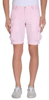 $26, Pink Shorts: 40weft Bermudas. Sold by yoox.com. Click for more info: https://lookastic.com/men/shop_items/51099/redirect