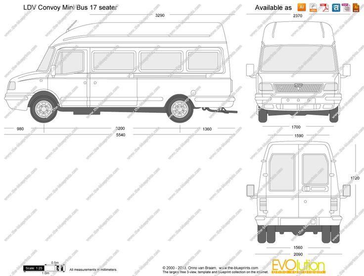 u0026quot ldv convoy u0026quot  internal dimensions