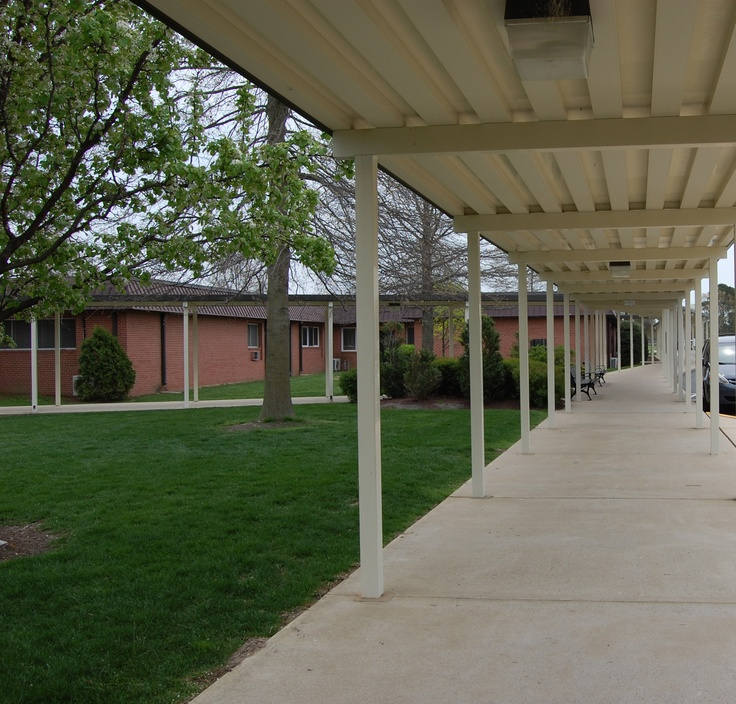 Covered Walkway Around Campus Pinterest Walkways And