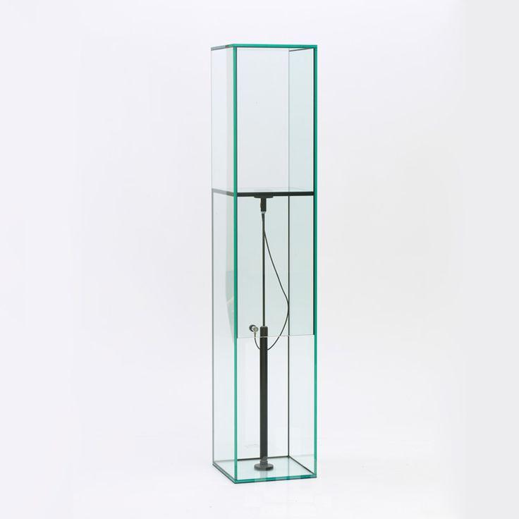 Simple man machine glass furniture by konstantin grcic at galerie kreo designboom